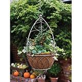 Laura Ashley 3A097120 Hanging Basket Acorn, Chestnut