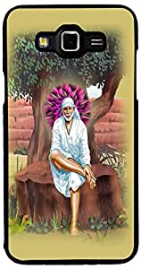 Printvisa Religious Sai Baba Case Cover for Samsung Galaxy Grand 3 (2D-GR3-D8089)