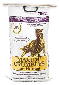 Horse Health Maxum Crumbles Supplement, 25-Pound