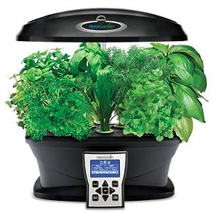 Miracle gro aerogarden ultra indoor garden for Indoor gardening amazon