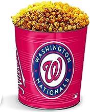 Washington Nationals 3-Flavor Popcorn Tins - 3 Gallon 3-Flavor Popcorn
