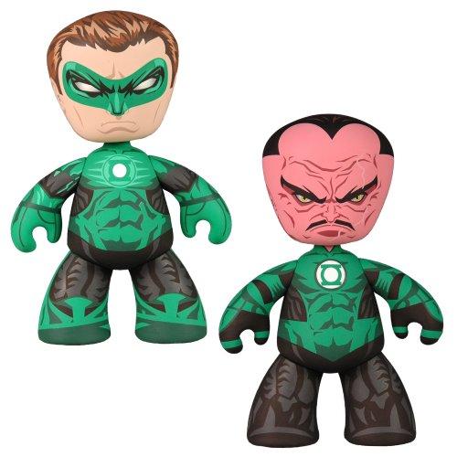 Picture of Mezco Green Latern and Sinestro MEZ-ITZ Figure (B004I44QKE) (Mezco Action Figures)