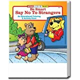 Say No to Strangers Coloring and Activity Book Trade Show Giveaway