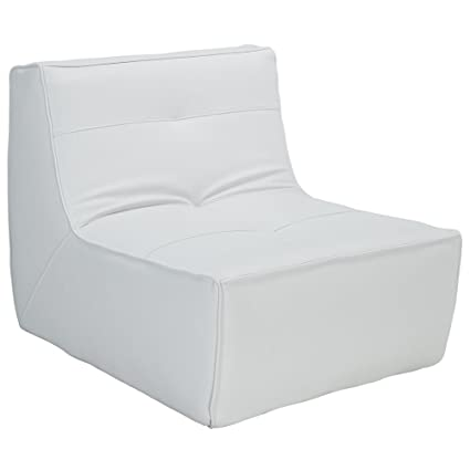 White Cloud Leather Armchair RTM251168
