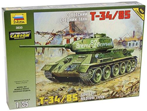 Zvezda-500783533-135-WWII-Soviet-Tank-T-3485