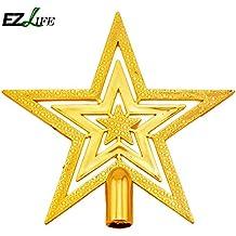 Alcoa Prime 2 Size Christmas Star Lovely Shiny Xmas Decorative Christmas Tree Topstar For Table Top Christmas...