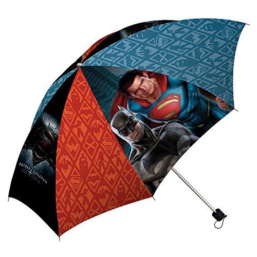 Batman Vs Superman 16'' Ombrello Classico, 40 cm, Multicolore