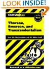 CliffsNotes Thoreau, Emerson, and Transcendentalism (Cliffsnotes Literature Guides)