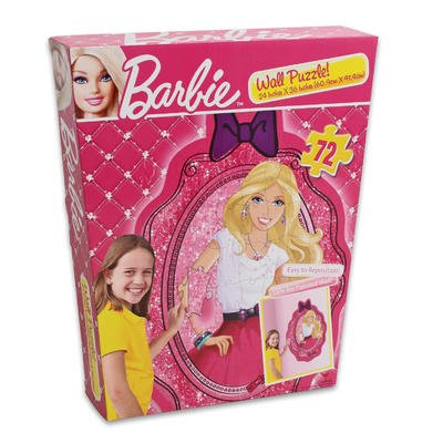 Barbie 72 Piece Wall Puzzle 24 X 36 Inches (Safe for Painted Walls) - 1