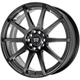 "Motegi Racing MR2747 SP10 Matte Black Wheel (17x7""/4x100, 114.3mm, +40mm offset)"