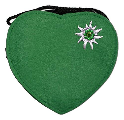 Herz-Trachtentasche-mit-Edelwei-Dunkelgrn