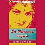 For Matrimonial Purposes | Kavita Daswani