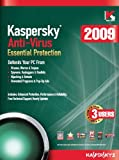 Kaspersky Anti-Virus 2009, 3-Desktop, 1 year Subscription (PC)