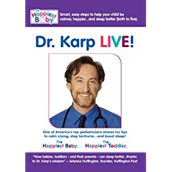 Dr. Harvey Karp, LIVE: A Conversation About Babies, Toddlers...and Sleep
