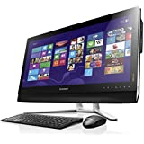 Lenovo B750 73,66 cm (29 Zoll) FHD IPS All-in-One Desktop-PC (Intel Core i7-4790, 4,0 GHz, 8GB RAM, Hybrid 2TB HDD + 8GB SSHD, NVIDIA GeForce GTX 760A/1GB, Win 8.1) schwarz