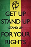 Get Up Stand Up For Your Rights Bob Marley Keep Calm and Carry On Spoof Music Maxi Poster Print - 61x91 cm