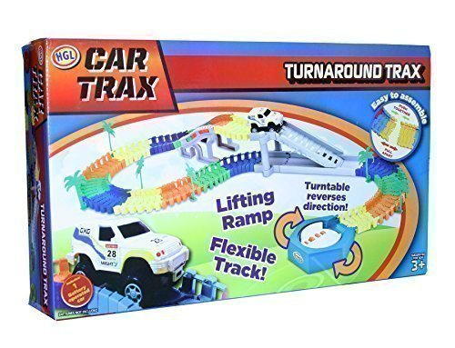 Car Trax Turnaround Trax Auto Rennbahn Kinderspielzeug