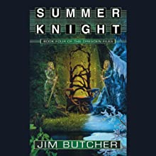 Summer Knight: The Dresden Files, Book 4 (       UNABRIDGED) by Jim Butcher Narrated by James Marsters