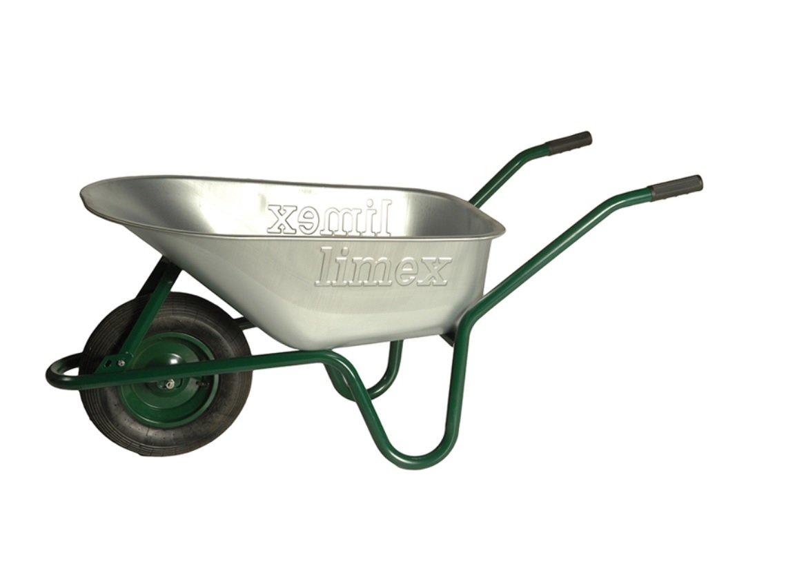 Schubkarre Bauschubkarre grün 100 Liter Vollgummirad  BaumarktKundenberichte und weitere Informationen