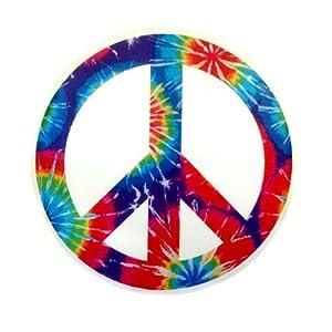 Nava Aufkleber mit Peace-Zeichen, Vinyl, bunt