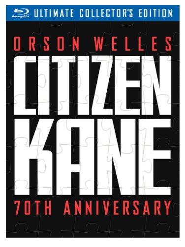 Cover art for  Citizen Kane (70th Anniversary Ultimate Collector's Edition) [Blu-ray]