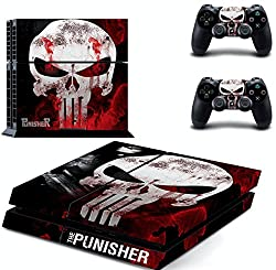AL Pacino Punisher theme cover sticker for playstation 4