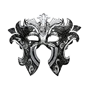 Coofit® Retro Roman Gladiator Halloween Party Masks Man Woman Children Masquerade Mask (Gladiator Mask) from Coofit