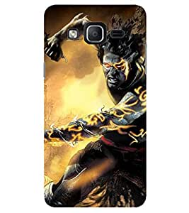 Evaluze warrior Printed Back Cover for SAMSUNG GALAXY ON7 PRO 2016
