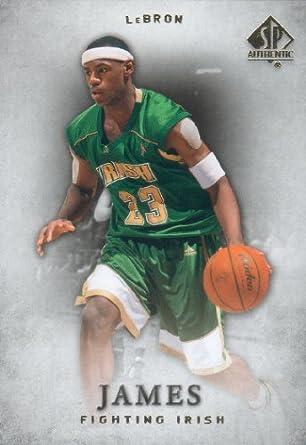 2012 2013 Lebron James Upper Deck Sp Authentic Series Mint