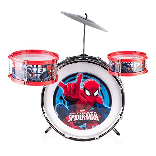 spiderman-full-drum-music-set