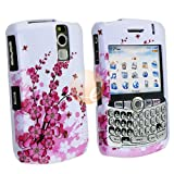 Snap On Protector Case for Blackberry Curve 8300/8310/8320/8330 - Spring Flowers ~ Mybat