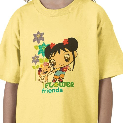 Ni Hao, Kai-Lan: Flower Friends Tee - Girls