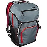 Altego Polygon Scarlet Red  Laptop Backpack 17 Inch - Rucksack Bag for School, College, Commute, or World Travel