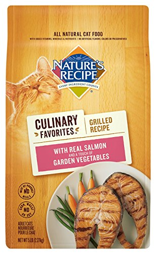 Nature's Recipe Culinary Favorites Grilled Recipe With Real Salmon & A Touch Of Garden Vegetables