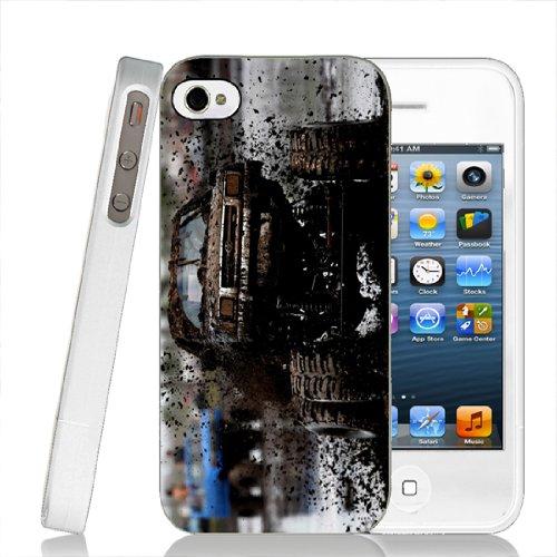 Toyota Mud 4 Wheel Drive - Iphone 4/4S White Case