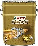 CASTROL(カストロール) エンジンオイル EDGE 5W-30 SN/CF/GF-5 全合成油 4輪ガソリン/ディーゼル車両用 20L