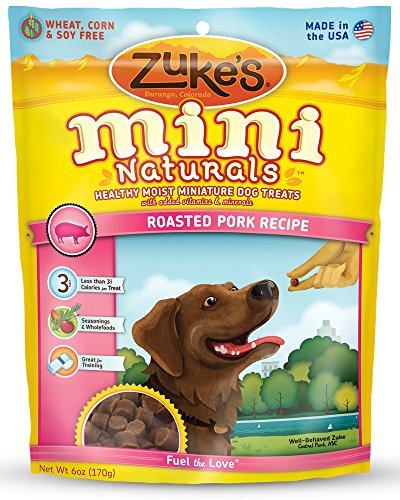 Zukes-Mini-Naturals-Healthy-Moist-Dog-Treats-Variety-Pack-6-Flavors-Roasted-Pork-Wild-Rabbit-Roasted-Chicken-Delicious-Duck-Savory-Salmon-Fresh-Peanut-Butter-6-oz-Each-6-Total-Pouches