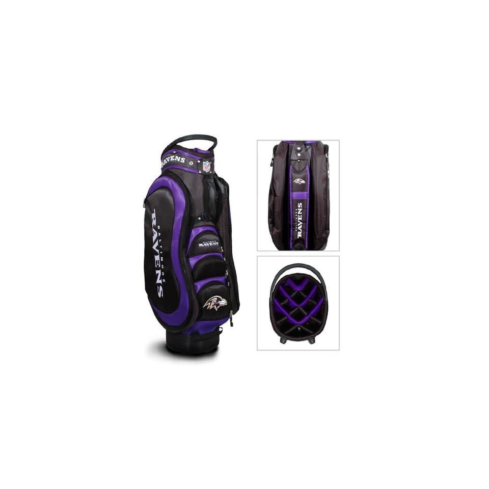 Baltimore Ravens NFL Cart Bag   14 way Medalist