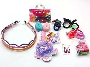 KIDSTAB Hair Accessories Fashion clips Hair band Head band Clutches hair pin hair rubber gift for girl