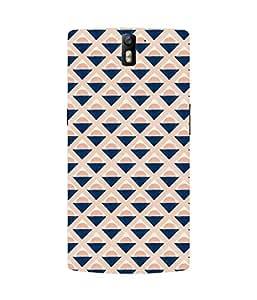 Blue Cone Oneplus One Case