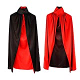 Hatop Halloween Cloak Masquerade Cos Props Small Devil Horns Gowns For Adult