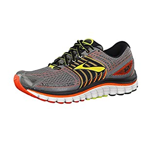 Brooks Glycerin 12: Brooks Men's Running Shoes Castle Rock/Lime Punch/Torch