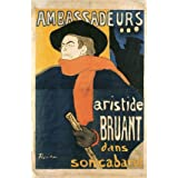 Ambassadeurs, by Henri de Toulouse-Lautrec (Print On Demand)