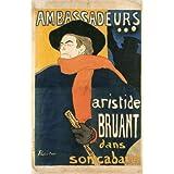 Ambassadeurs, by Henri de Toulouse-Lautrec (V&A Custom Print)