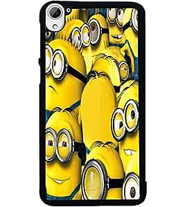 ColourCraft Cartoons Design Back Case Cover for HTC DESIRE 826