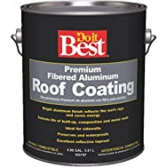 Do it Best Premium Fibered Aluminum Roof Coating-GL FIB ALUM RF COATING