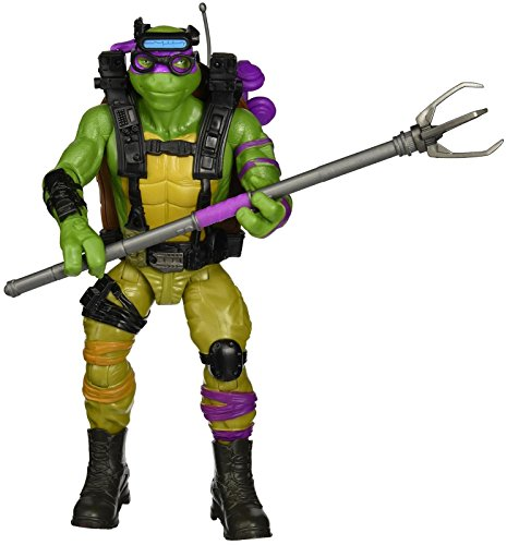 """Teenage Mutant Ninja Turtles Movie 2 Out Of The Shadows Donatello 11"""" Figure"""