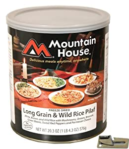 Mountain House Freeze Dried Long Grain & Wild Rice Pilaf