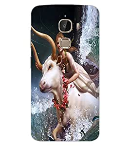 ColourCraft Printed Design Back Case Cover for LeEco Le 2 Pro