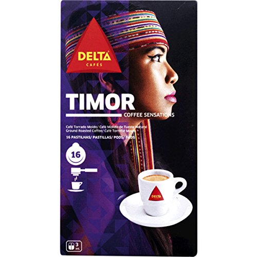 Purchase DELTA - TIMOR - Single Serving ESE 44mm Pods - 4 x 16 ESE pods (TOTAL = 64 ESE pods) from Delta Cafés - CAMPO MAIOR - PORTUGAL
